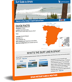 Spain Surf Guide