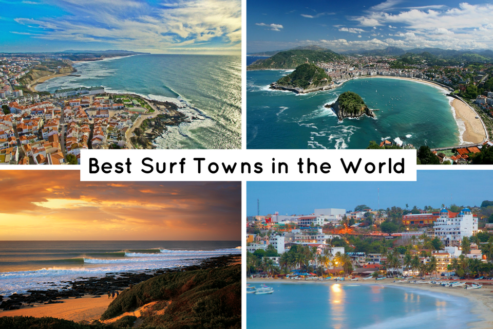 The 15 Best Surf Towns In The World